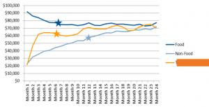 Sample Analysis of Average Monthly Unit Revenue